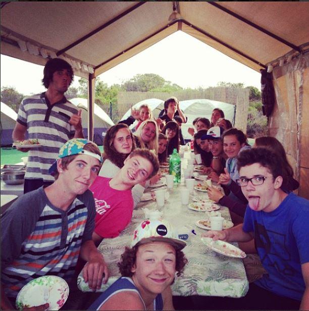 Surf Camp Meals