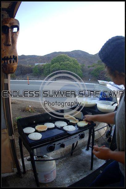 Surf Camp Breakfast