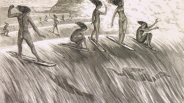 Orgins of Surfers