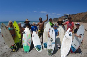 Progressive Surf Coaching students