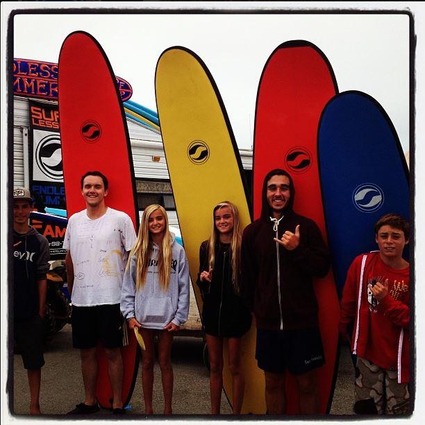 Beginer Surfing