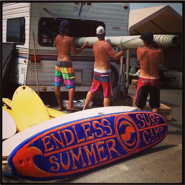 Endless Summer Surf Camp Finished Up Another Great Season
