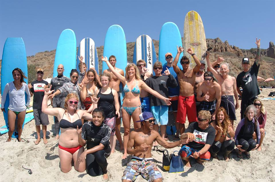 Surf School in Session